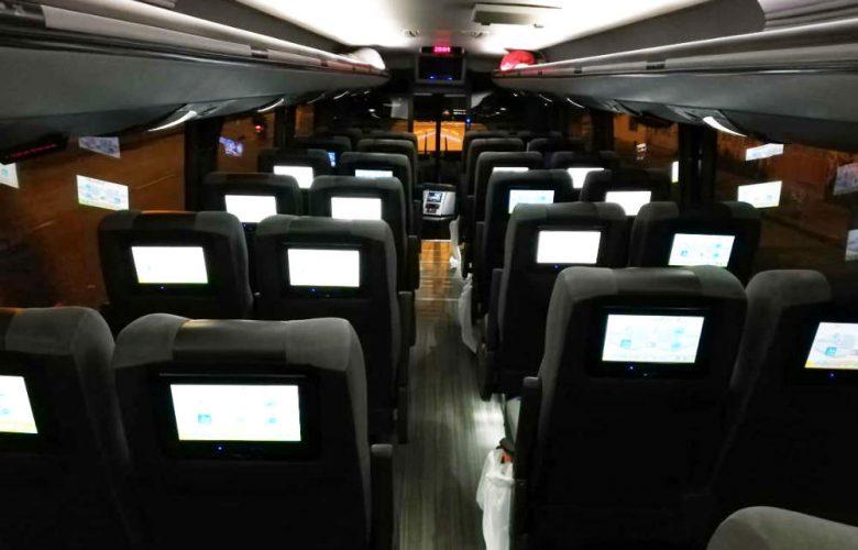 Buses Viajes Colombia Viva interiores