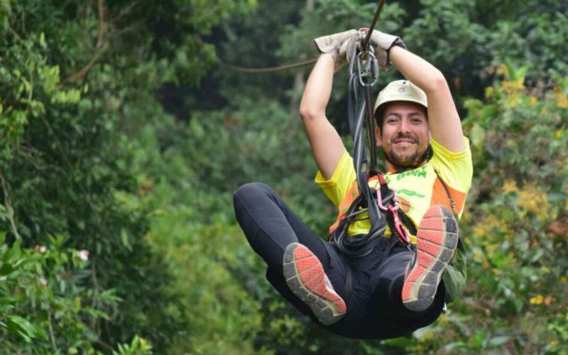 Canopi Frente Macadamia Bosque Aventura La Mesa